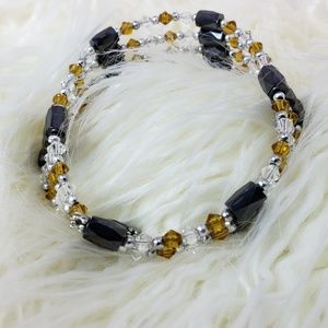 Awesome Magnetic Beaded Bracelet / Choker 35""